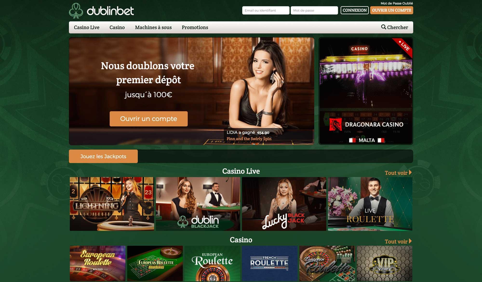 Les utilisateurs de DublinBet peuvent maintenant jouer au blackjack et gagner des points de récompense